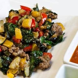 Low Carb Meal Plan: 1. Taco Scramble
