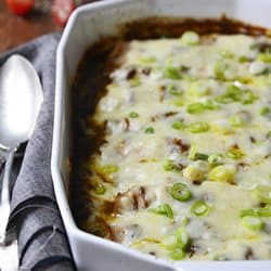 Low Carb Meal Plan - 3. Low-Carb Leftover Chicken (or Turkey) Enchiladas
