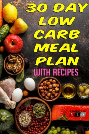 30 Day Low Carb Meal Plan with Recipes 2