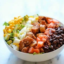 Low Carb Meal Plan - 6 BBQ Chicken Cobb Salad