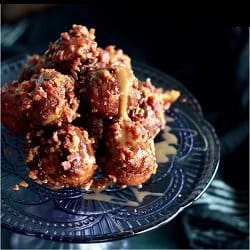 Low Carb Meal Plan - 7. Bacon-Studded Maple Donut Holes