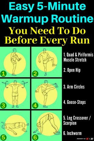 Easy 5-Minute Warmup Routing You Need to do Before Every Run