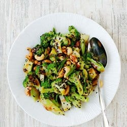 Low Carb Meal Plan - 9 Sweet and Sour Broccoli Salad