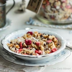 Low Carb Meal Plan - 9. Macadamia Berry Blast Granola