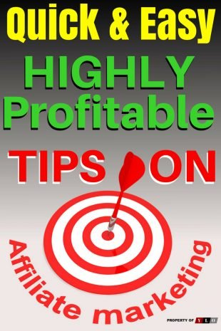 Highly Profitable Affiliate Marketing Tips 1