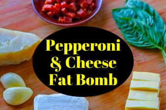 Keto Fat Bombs - Pepperoni & Cheese Recipe