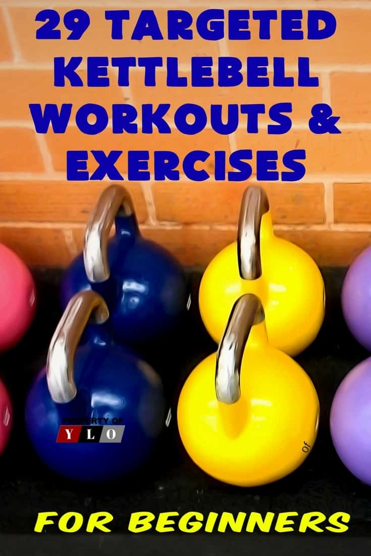 29 Targeted Kettlebell Workouts & Exercixes for Beginners