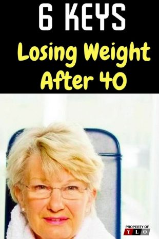 6 Keys Losing Weight After 40