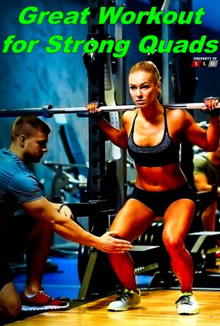 Great Workout for Strong Quads