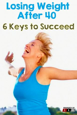 Losing Weight After 40 - 6 Keys to Succeed