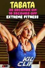 Tabata 20 seconds on 10 seconds off Extreme Fitness