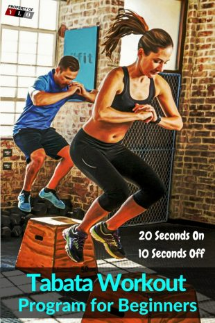 Tabata Workout Program for Beginners - 20 Seconds On & 10 Seconds Off