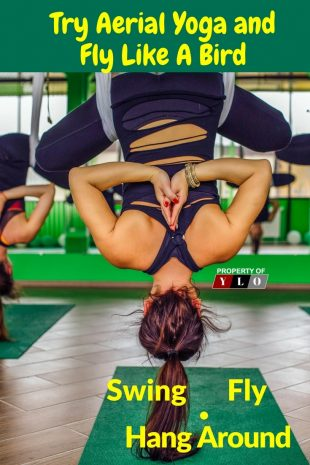Try Aerial Yoga and Fly Like a Bird