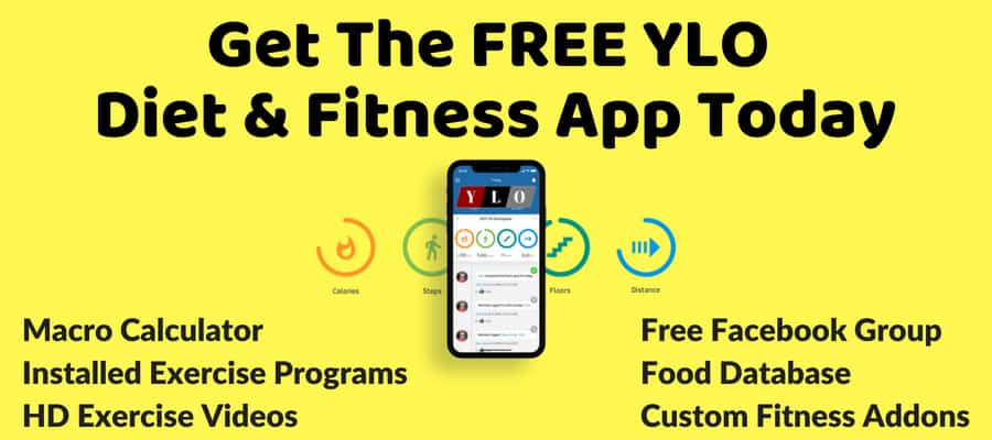 YLO Free Diet and Fitness App