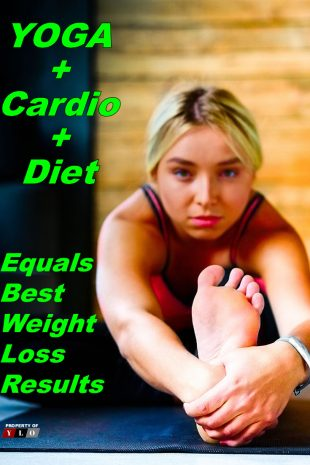Yoga Cardio Diet Equals Best Weight Loss Results