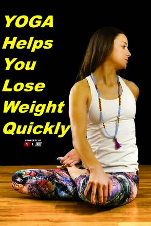 Yoga Helps You Lose Weight Quickly