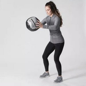 2 Ball Slams - Bodyweight Exercise for Toned Arms