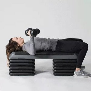 3 Dumbbell Bench Press - Bodyweight Exercise for Toned Arms