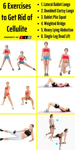 6 Exercises to Get Rid of Cellulite