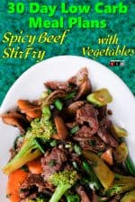 Spicy Beef StirFry with Vegetables