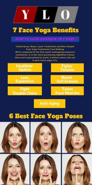 Exercises ones facial and neck muscles while maintaining a relaxed look. Facial yoga is a form of exercise, which tones and tightens your face. As you exercise these muscles, you're drawing blood, oxygen and extra circulation to this delicate skin, which can stimulate collagen production and emulates youth. #yoga #health #fitness #flexibility #trail #yogaforbeginners #yogaposes #yogainspiration #yogaworkout #yogaworkouts #yogalifestyle