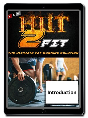 HITT 2 Fit Audio and Video Lessons on Phone
