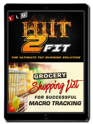 Macro List and Grocery Guide on Phone