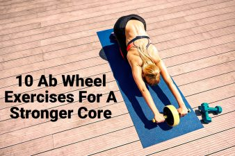Woman practicing Ab Wheel Exercises For A Stronger Core