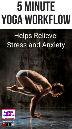 4 Yoga Poses To Relieve Anxiety Attacks