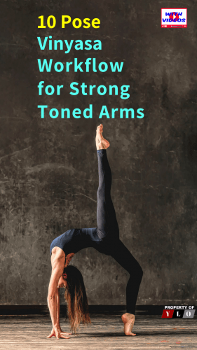 Vinyasa Flow Sequence for Arm Strength
