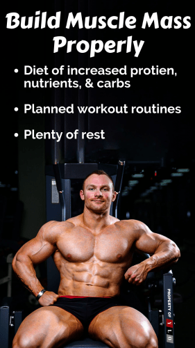 Build Muscle Mass Properly