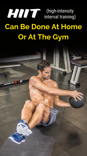 HIIT Can Be Done At Home Or At The Gym