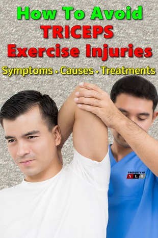 How To Avoid Triceps Exercise Injuries
