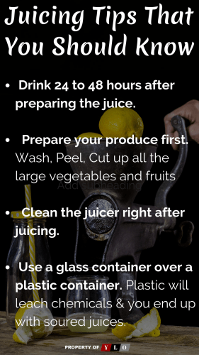 Juicing Tips That You Should Know