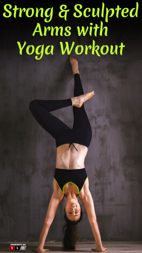 Strong & Sculpted Arms with Yoga Workout