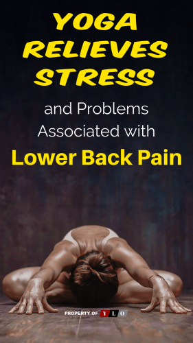 Yoga Relieves Stress and Problems Associated with Lower Back Pain