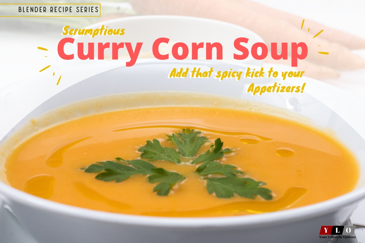 Special Blender Recipes Series: Curried Corn Soup