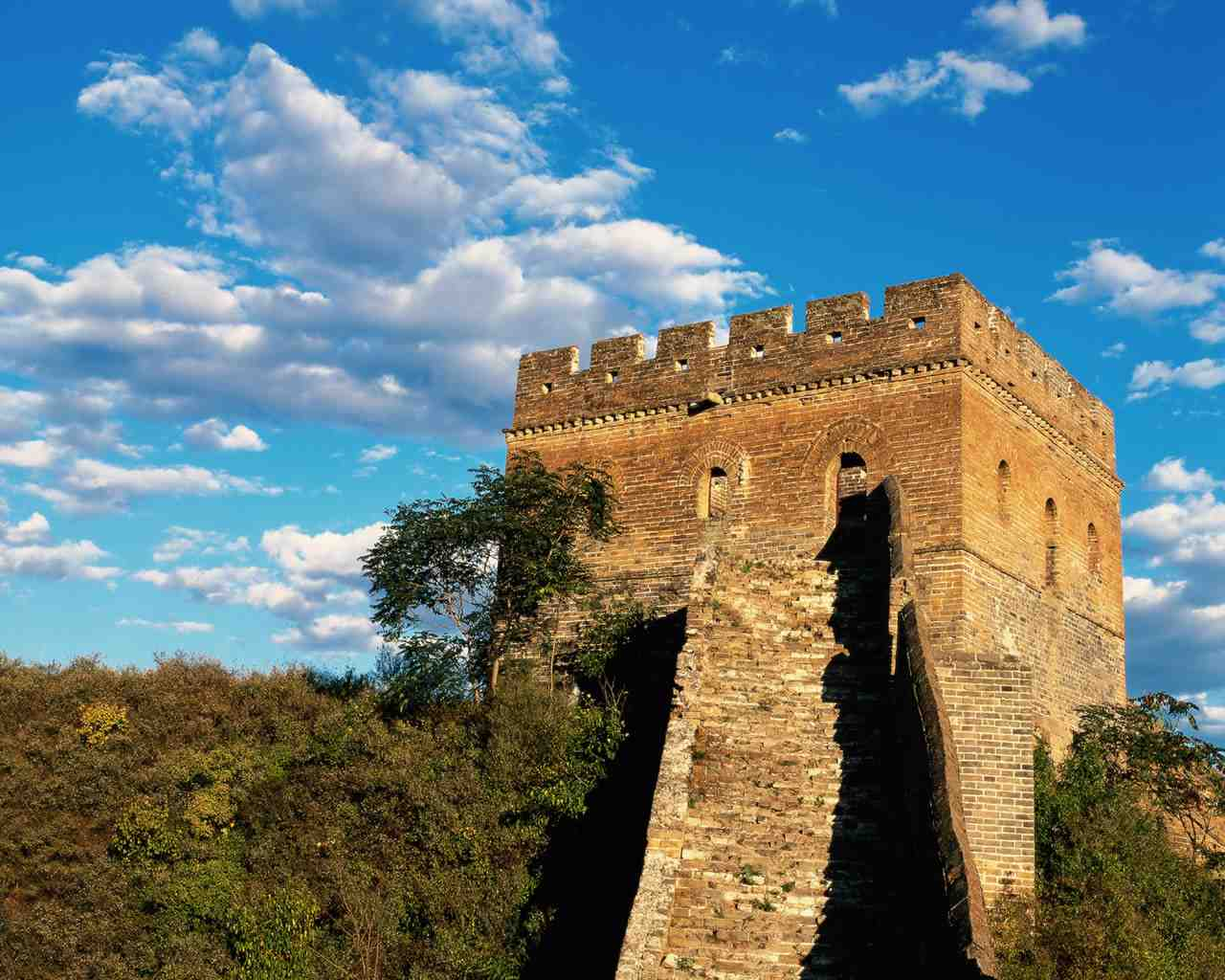 The Great Wall Guard Tower